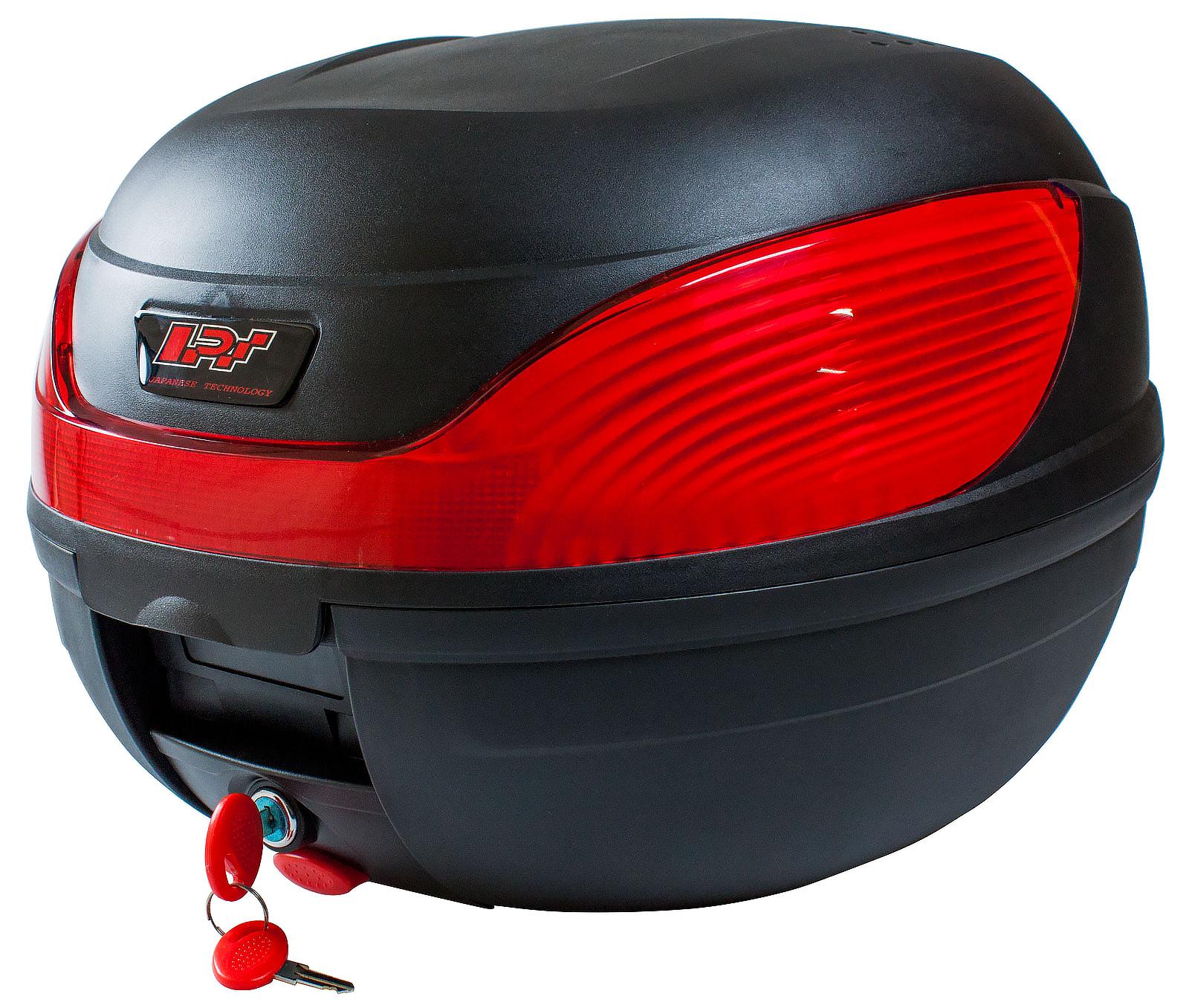 Toppbox 34L Svart Komplett Med Monteringssats