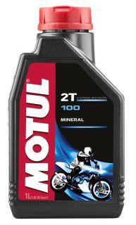 Motul 1L 100 Motomix 2T olja mineral