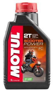 Motul 12x1L Scooter Power 2T olja helsyntet