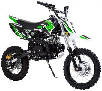 Grön 125cc Dirtbike