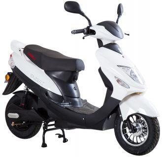 Moped från Viarelli, Enzero i snygg Vit 1