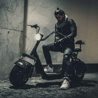 Moped från X-PRO, Fatboy i snygg  0