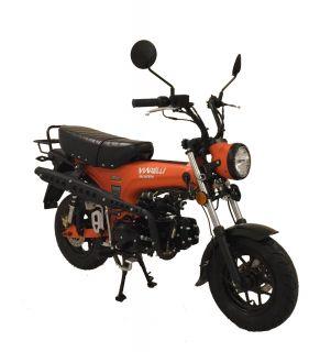 MC från Viarelli, Skymax 125cc i snygg Orange 1