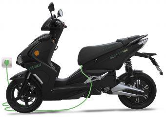 Moped från Viarelli, Monztro Electric i snygg  1