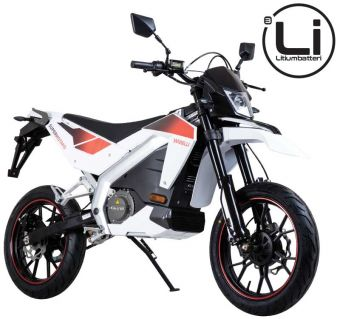 Viarelli Supermotard, El-motard med litiumbatteri