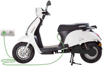 Moped från Viarelli, Venice Electric i snygg Vit 1