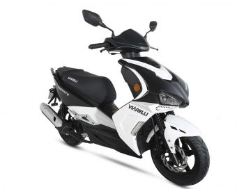 Moped från Viarelli, Monztro i snygg  0