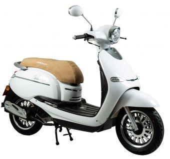 Vit Moped klass 1 Viarelli Vincero