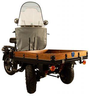 Vindruta Elektrisk Flakmoped MGB Delivery