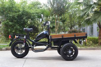 Elektrisk Flakmoped MGB Delivery Framhjulsdriven
