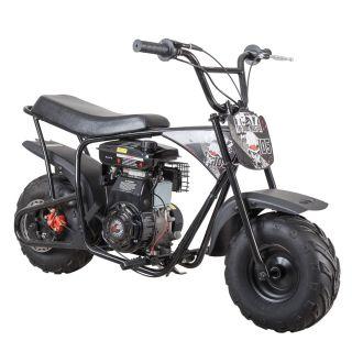 Dirtbike från Ten7, Mudmaster i snygg Svart 1