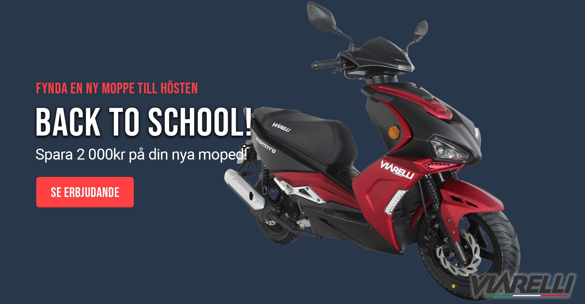 Mopedkampanj på motorsweden.se