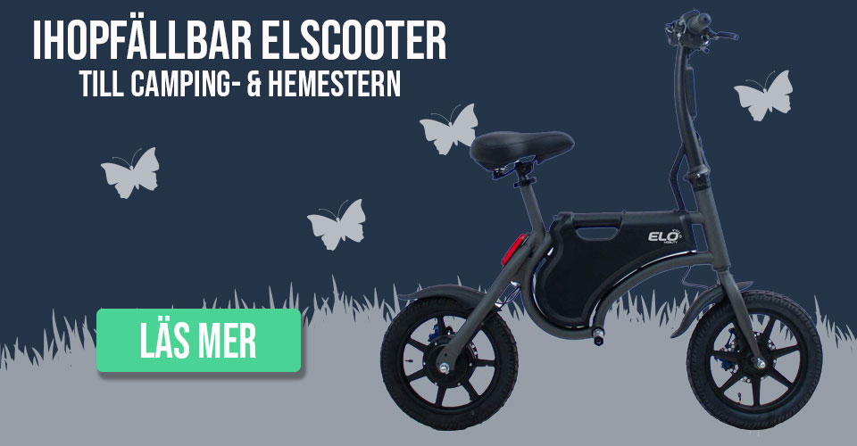 Ihopfällbar elscooter från ELO Mobility
